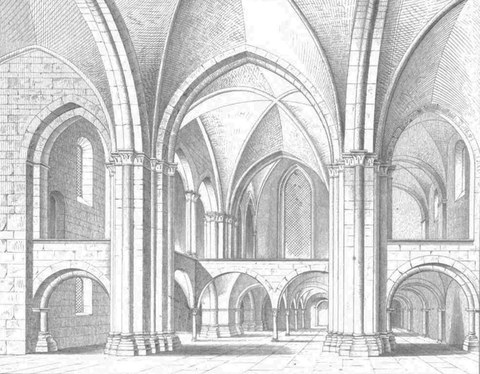 Langenhorst, ehem. Frauenstiftskirche St. Johannis der Täufer